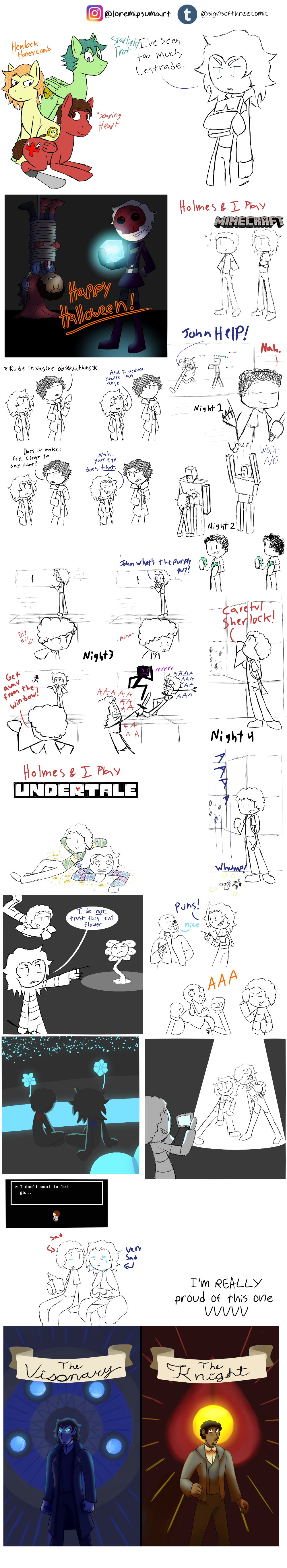 Chapter 2 Doodle Compilation